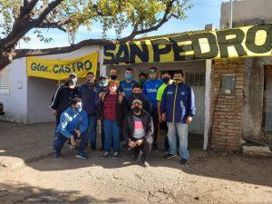 Peña Boca Juniors de San Pedro colaboró en G. Castro