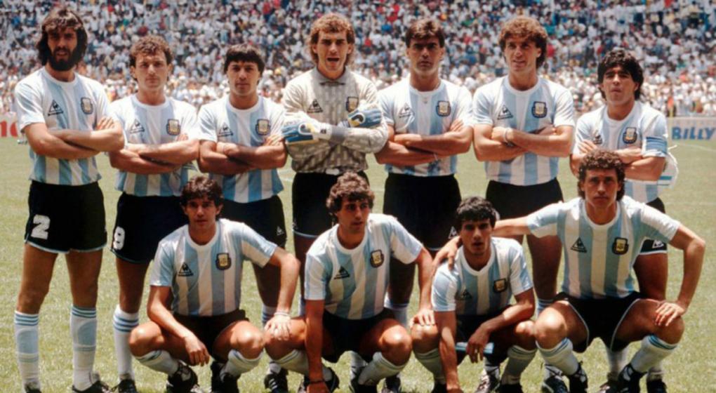 Argentina campeona del Mundial 1986