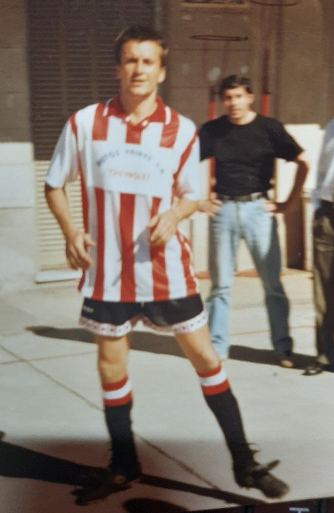 Guillermo Malacalza, un tremendo goleador de los '80 y '90