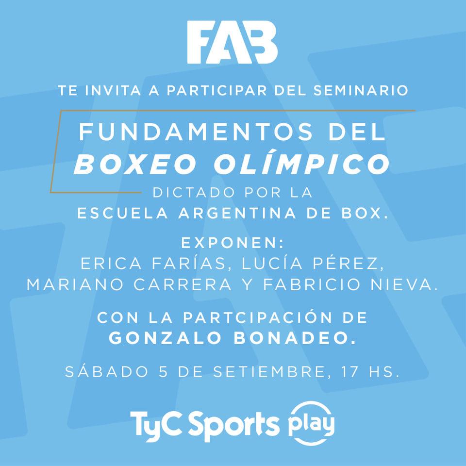 Seminario «Fundamentos del boxeo olímpico»