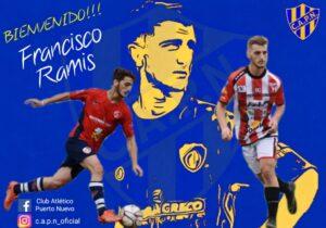 Francisco Ramis jugará en Puerto Nuevo de Campana