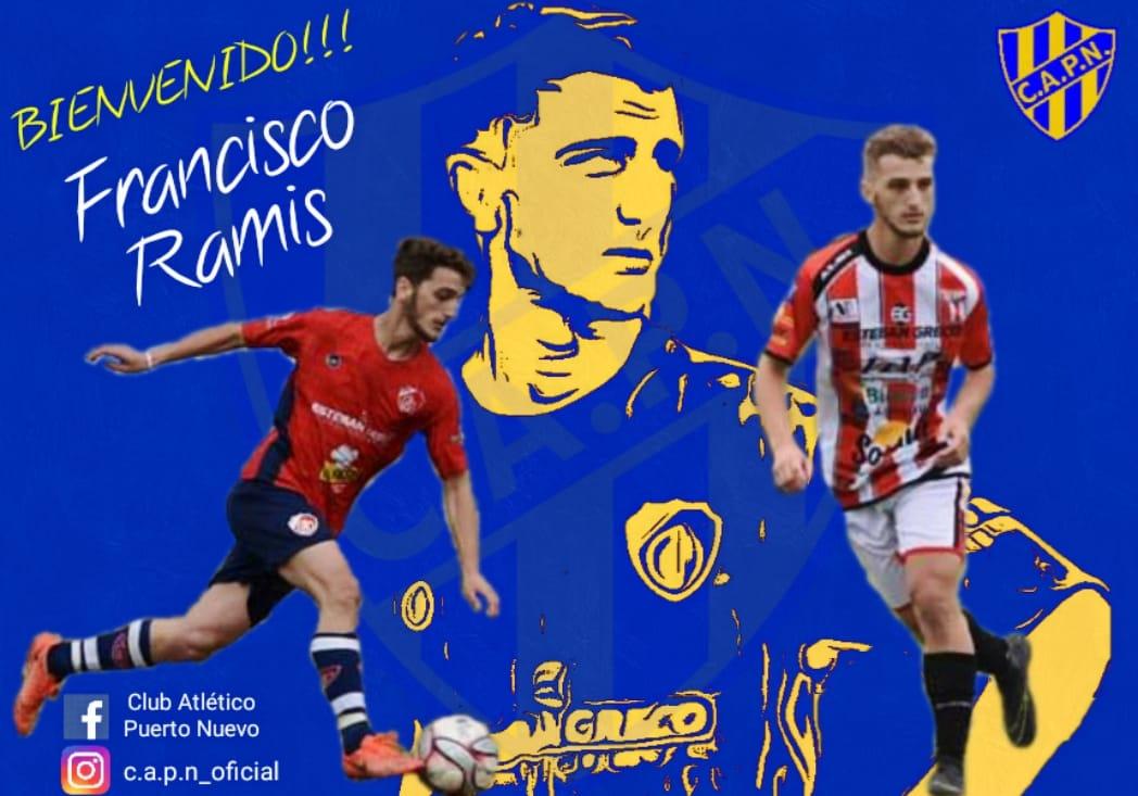 Lee más sobre el artículo Francisco Ramis jugará en Puerto Nuevo de Campana