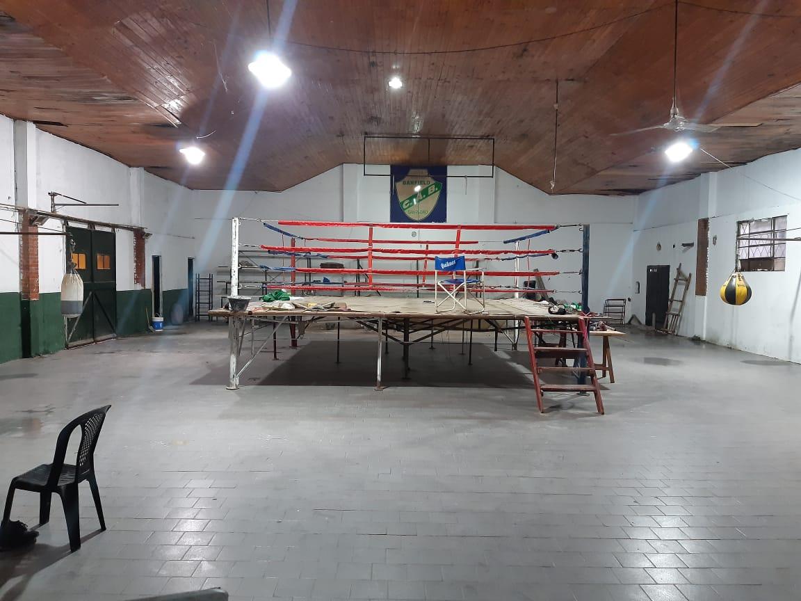 Banfield realiza refacciones en su sede y Gral. San Martín en su campo de deportes