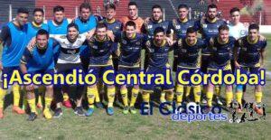 Hace un año Central Córdoba ascendía a primera A y descendía Las Palmeras a la B