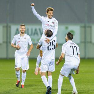 Lee más sobre el artículo Nicolás Gorobsov debutó con un gol en su nuevo equipo en Lituania