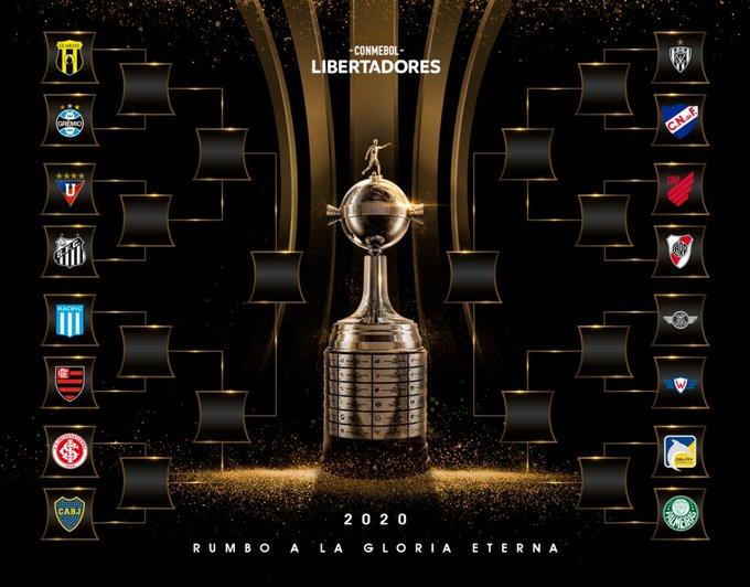 Copa Libertadores y Sudamericana ya tiene los cruces de la ronda final