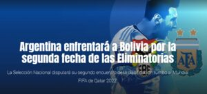 Eliminatorias: Argentina visita a Bolivia en la altura de La Paz