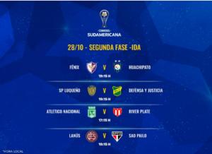 Lanús, Def. y Justicia, Vélez, Independiente y A. Tucumán juegan por la Sudamericana