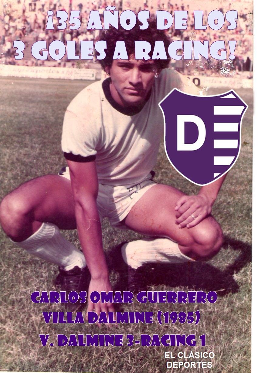 Carlos Omar Guerrero: A 35 años de tres goles muy recordados para Villa Dálmine
