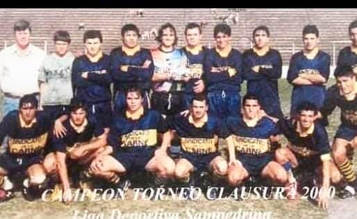 El último festejo de Pérez Millán en el fútbol local