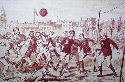 Un día como hoy 'nació' el fútbol..