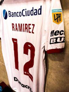 Sebastián Ramírez tuvo minutos en el triunfo ante Patronato en Paraná