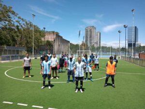 ¡El plantel completo de los Murciélagos entrena y concentra en Buenos Aires hasta fin de mes!!