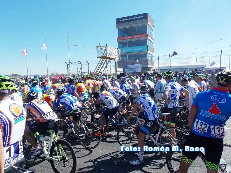 Inicia el Campeonato Argentino de ciclismo en ruta