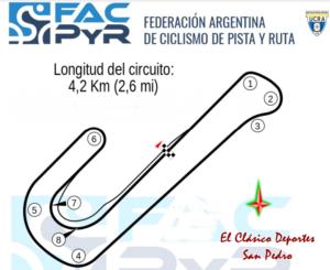 El fin de semana será el Campeonato Argentino de ruta Master, Damas y Elite II
