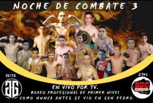 Lee más sobre el artículo En vivo para San Pedro y la zona: Boxeo Profesional el 18 de diciembre