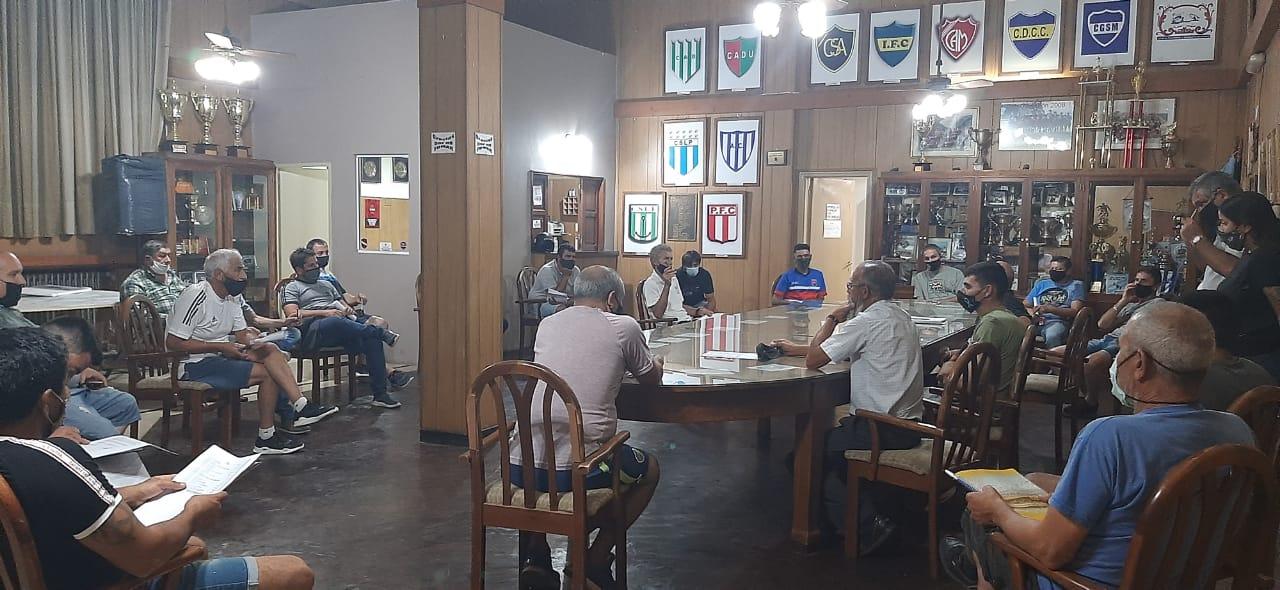 La Liga Sampedrina solicitará al municipio poder jugar con público
