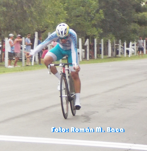 ¡Mariano Manzo fue más rápido que el viento!