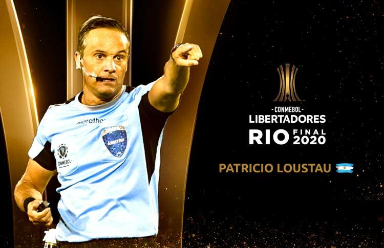 Patricio Loustau dirigirá la Final Única de la CONMEBOL Libertadores