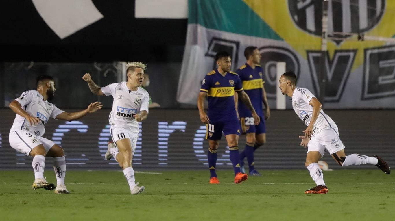 Boca fue goleado en Brasil