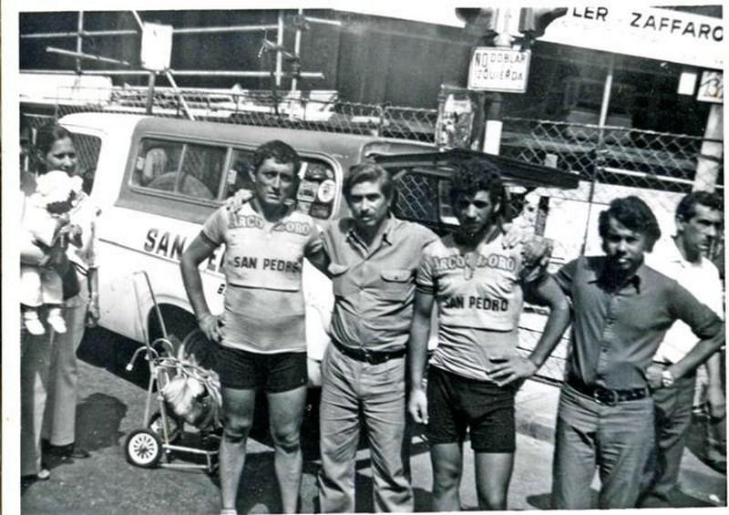 El recuerdo de Rutas de América y la participación de sampedrinos