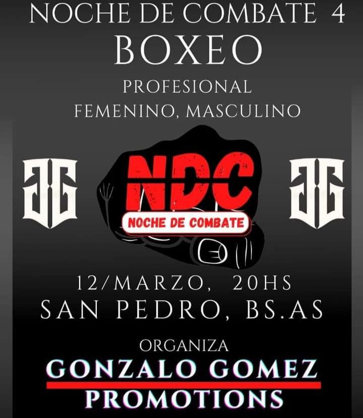 Noche de Combate 4: se prepara un megafestival de boxeo para marzo