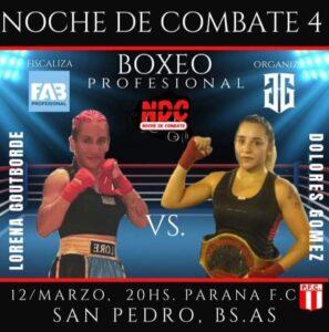 Boxeo en San Pedro: debutantes con pimienta en los puños