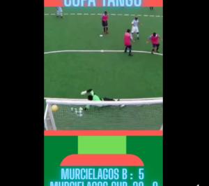 Goles de Silvio Velo en la Copa Tango