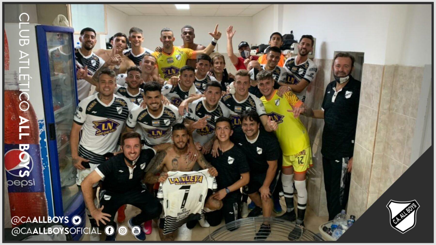 Gran triunfo de All Boys en San Juan con Tomás Oneto