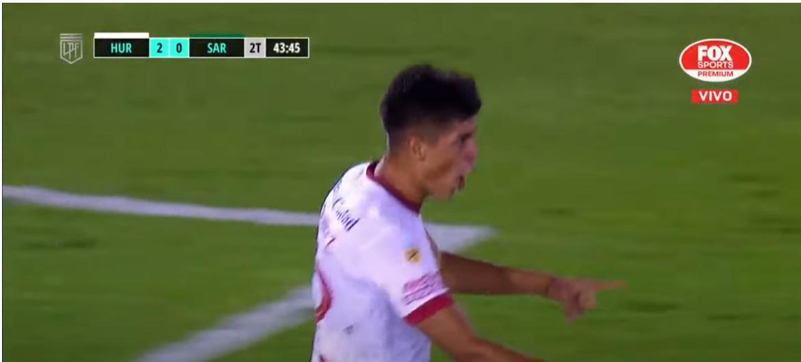 Gol de Seba Ramírez en la goleada del globo