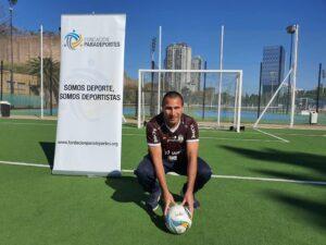 Silvio Velo ya se puso la camiseta marrón de Atlas Paradeportes