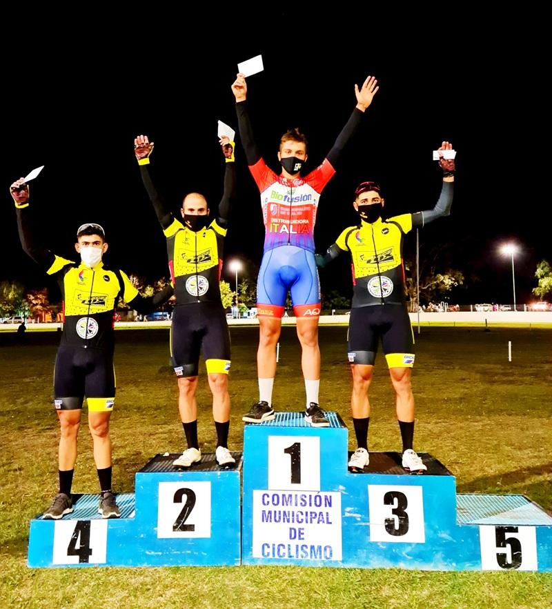 Ciclismo: Agustín Basualdo quinto en cat. Elite disputada en Salto