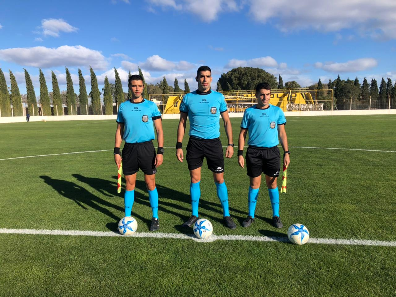 Federal A: Joaquín Gil actuó de árbitro en Puerto Madryn. Perdió Defensores de Villa Ramallo