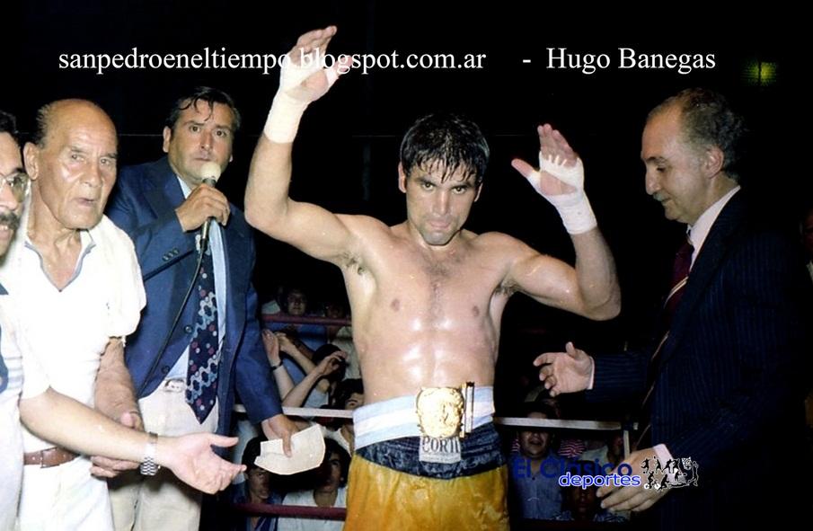 Lorenzo Luis García se consagró campeón Liviano en 1980