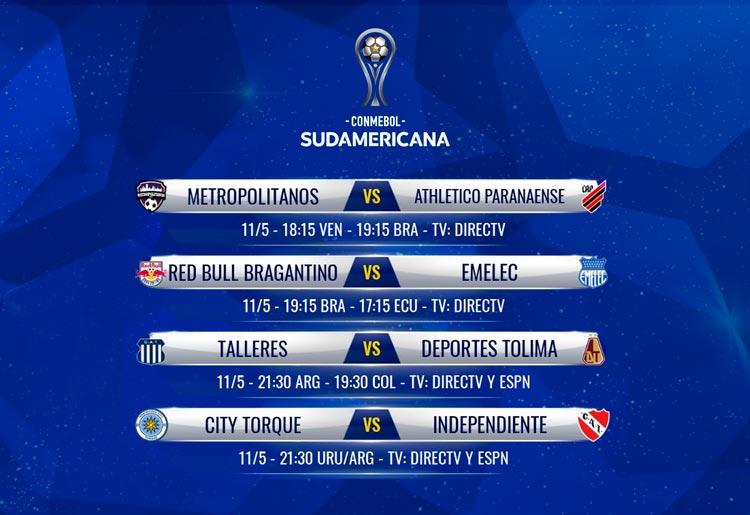 Copa Sudamericana: Independiente y Talleres juegan este martes