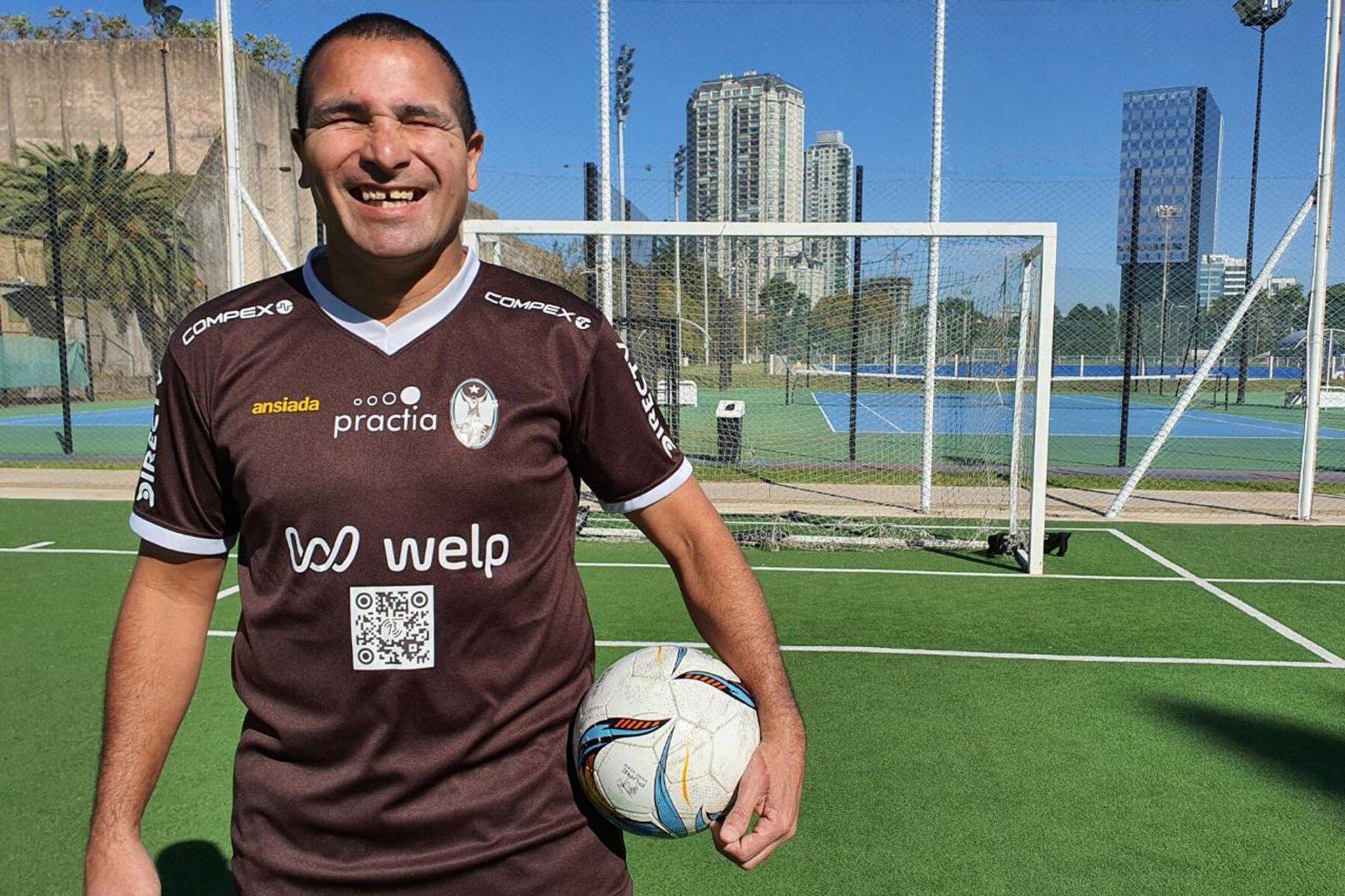 «Historia y desarrollo del fútbol para personas ciegas», a cargo de Silvio Velo