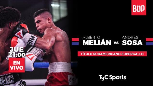 Lee más sobre el artículo El jueves 1º en Paraná FC, boxeo por TyC Sports con un título sudamericano en juego
