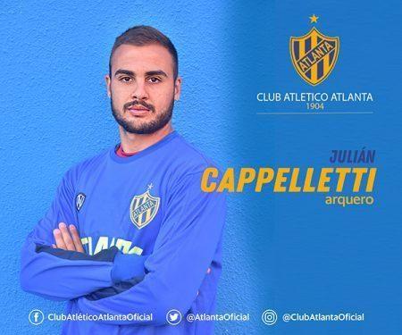 Primera Nacional: Julián Cappelletti estará en el banco de Atlanta en el clásico con Chacarita