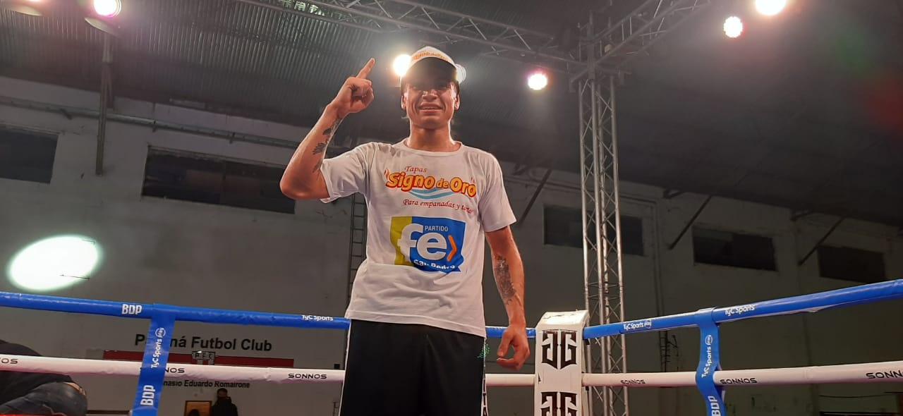 Lee más sobre el artículo Boxeo en San Pedro: Sosa por KOT y Sciuto por puntos