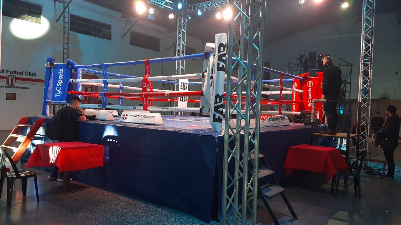 En este momento estás viendo Boxeo: retorna la actividad con público en Paraná FC. Doble fondo con Ubiedo Sciutto y Miguel Correa. Un día antes Muñoz ante Peralta