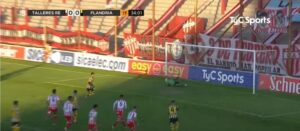 Lee más sobre el artículo Con dos goles de Matías Nouet, Flandria es puntero de la Primera B