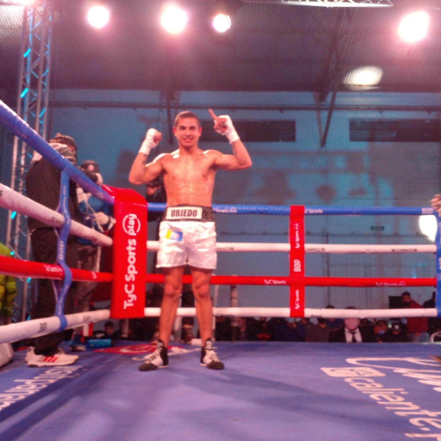 Lee más sobre el artículo Boxeo en San Pedro: Ubiedo Sciuto encendió la «dinamita»