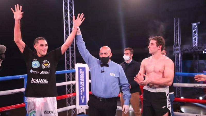Lee más sobre el artículo Boxeo: Yamil Peralta ratificó su buen momento ante el sampedrino Damián Muñoz