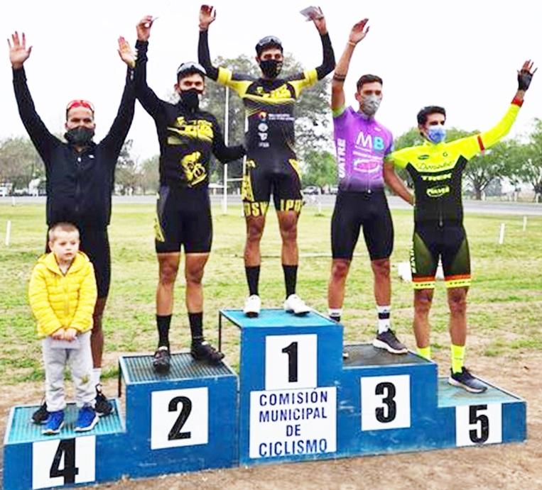Lee más sobre el artículo Ciclismo en Salto: Basualdo reafirmó su buen momento