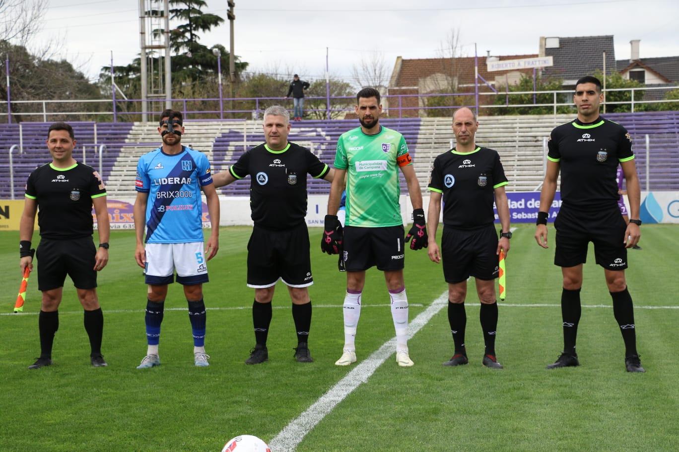 Lee más sobre el artículo Francisco Nouet, gol y expulsión en un partidazo. Joaquín Gil estuvo de cuarto árbitro
