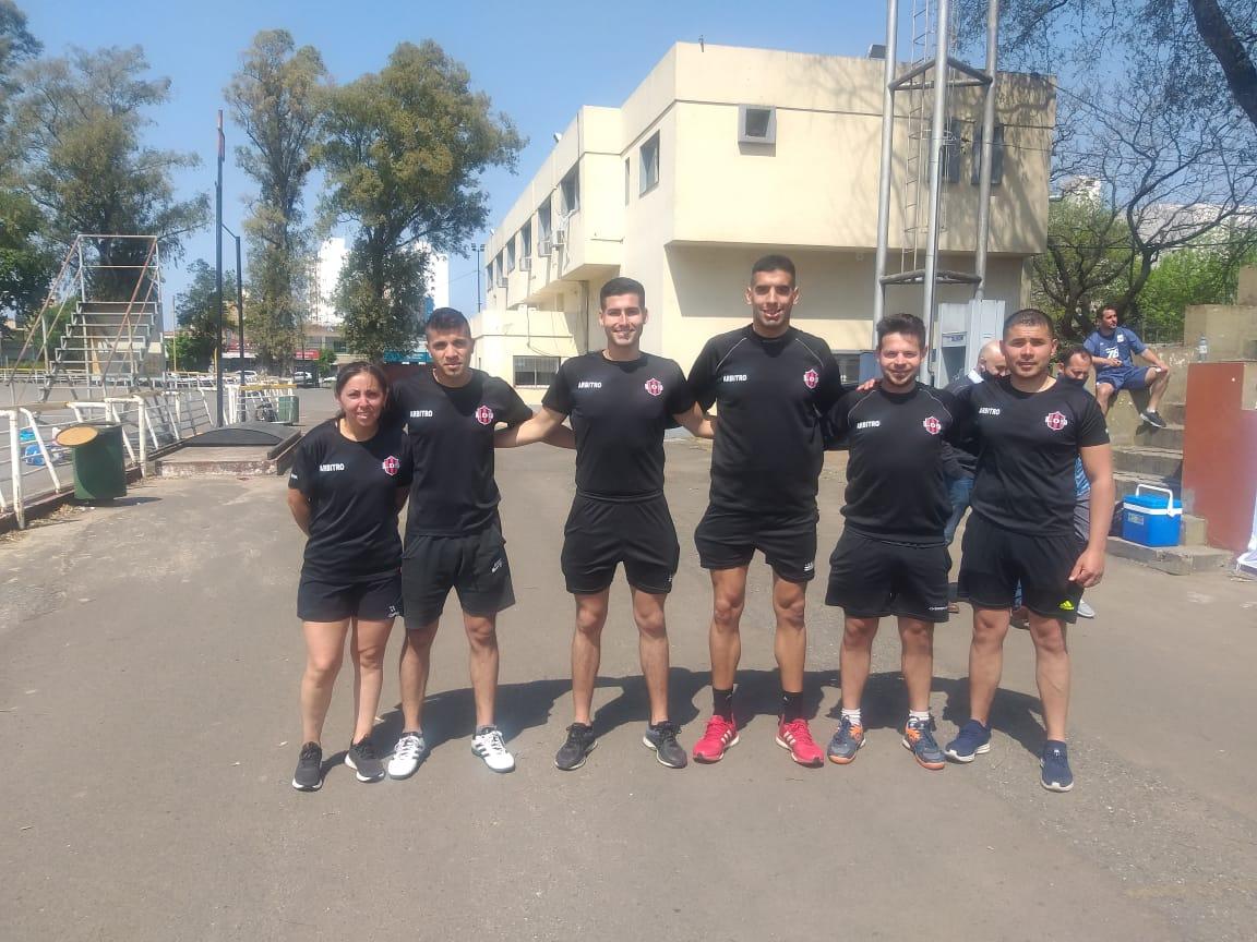 Lee más sobre el artículo Árbitros locales aprobaron la prueba física en Rosario