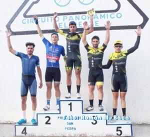 Lee más sobre el artículo Ciclismo en San Pedro: «Pitu» Grosso se llevó la victoria en la prueba principal