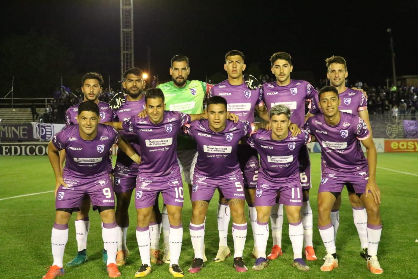 Lee más sobre el artículo Primera Nacional: Dálmine y Ferro igualaron en Campana. Nouet el gol del violeta