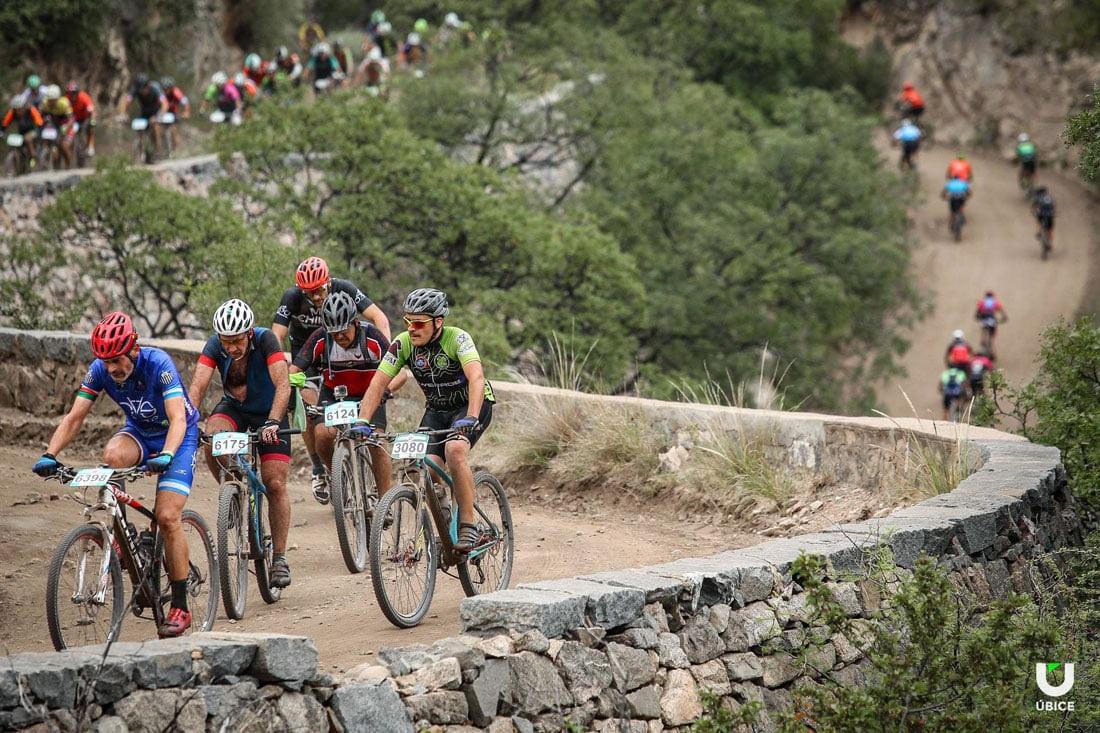 En este momento estás viendo San Pedro contó con 39 ciclistas en la Río Pinto