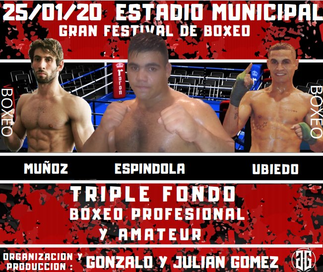 Otra gran gala de boxeo en el municipal